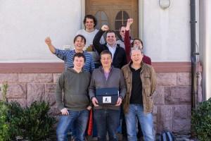 Erste Mannschaft in Iffezheim - 19 April 15 (1 von 1)