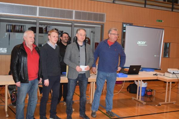 Untergrombach - Badischer Mannschaftsblitzmeister 2016